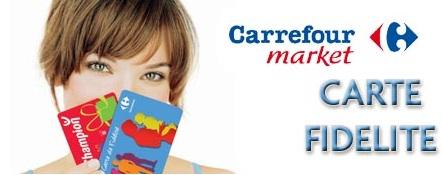 Carte Carrefour Market