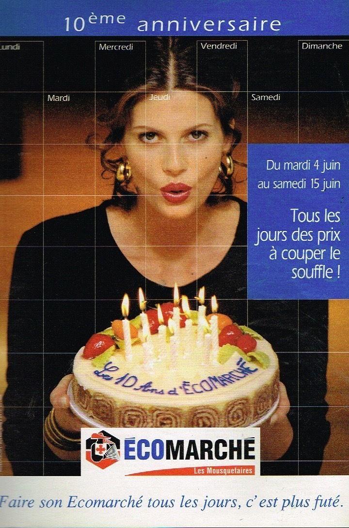Publicité-advertising-1996-Supermarchés-Intermarché-ecomarché-Mousquetaires